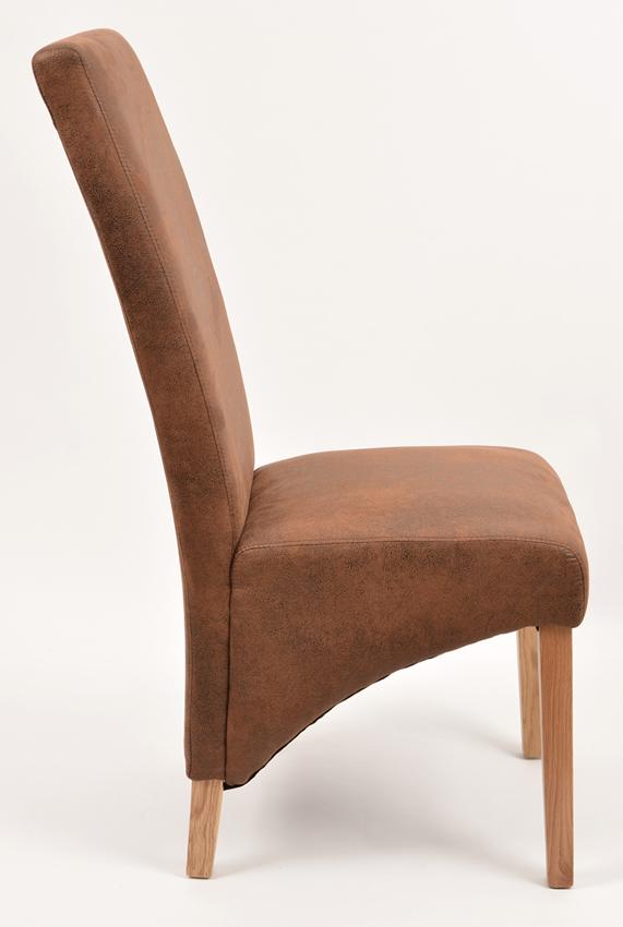 esszimmerstuhl polsterstuhl microfaser stuhl eiche massiv. Black Bedroom Furniture Sets. Home Design Ideas