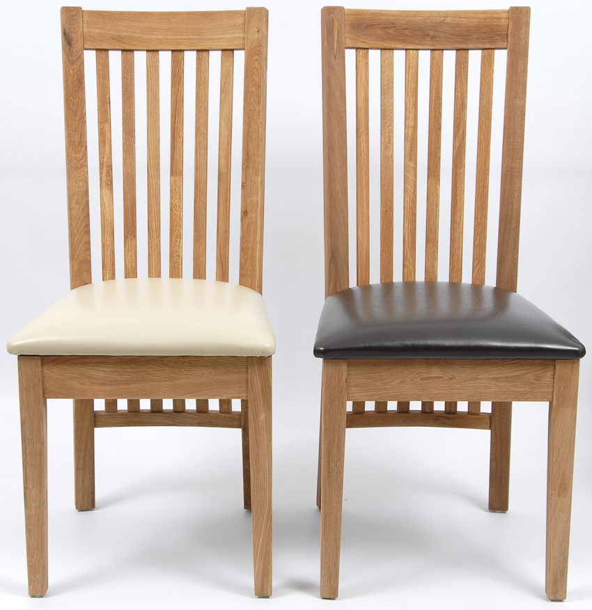 esszimmerstuhl kunstleder stuhl wildeiche massiv ge lt eiche 5324 farbwahl ebay. Black Bedroom Furniture Sets. Home Design Ideas