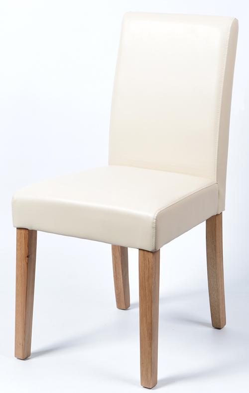 2x esszimmerst hle kunstleder eiche 5740 creme ebay. Black Bedroom Furniture Sets. Home Design Ideas